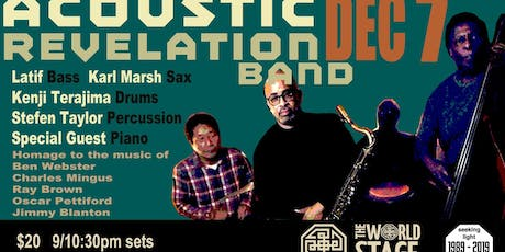 The World Stage presents *Acoustic Revelation Band*  tickets