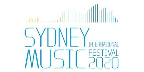 Sydney International Music Festival Concert 3 tickets