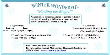 Winter Wonderful tickets
