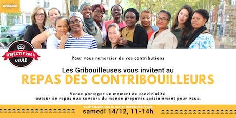Repas des Contribouilleurs - les nounous d'Ile-de-France vous invitent. billets