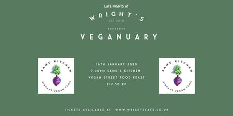 Samu Kitchen - Vegan street food feast tickets