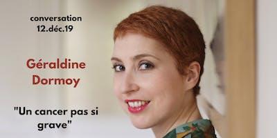 TALK - Conversation avec Géraldine Dormoy