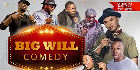 The BIG WILL Comedy Show tickets