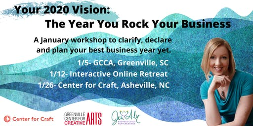 Your 2020 Vision: The Year You Rock Your Business