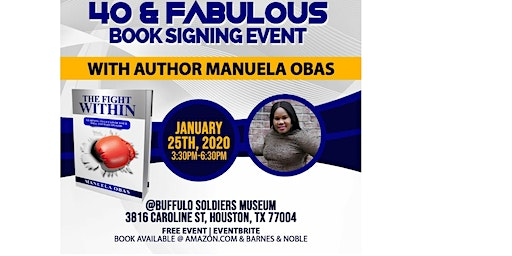 40 & FABULOUS BOOK SIGNING EVENT