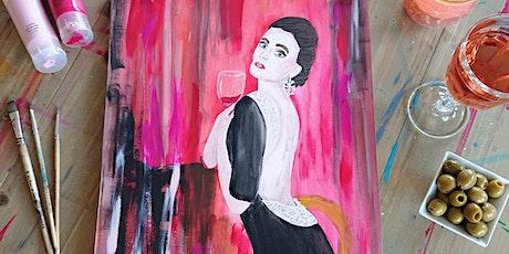 """Wine meets Art """"Lady in Black"""" Tickets"""
