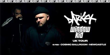 RUSH presents Darkzy & Window Kid - UK Tour tickets