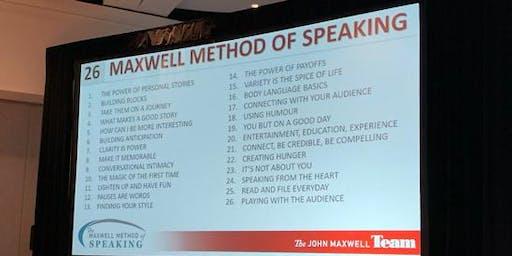 Maxwell  International Speakers Club of Greater Lansing, Michigan