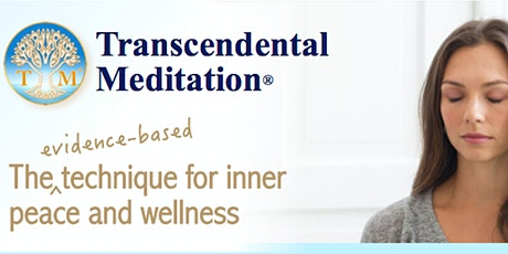 Learning the AUTHENTIC Transcendental Meditation technique: An introduction tickets