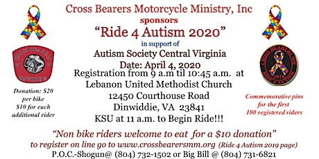 Ride 4 Autism 2020 tickets