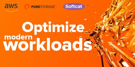 Pure Storage and AWS - Optimise your Cloud Storage tickets