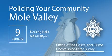 Policing your Community - Mole Valley Open Engagement Meeting tickets