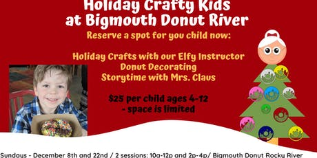 Holiday Crafty Kids with Mrs. Claus tickets