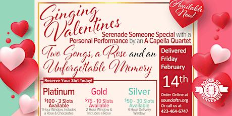 Singing Valentines 2020! tickets