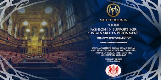 MITCH DESUNIA AW/2020  fashion show during LONDON FASHION WEEK