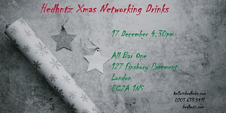 Hedhntz – Construction & Property Xmas Networking Drinks tickets
