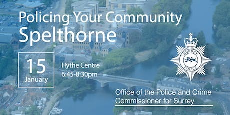 Policing your Community - Spelthorne Open Engagement Meeting tickets