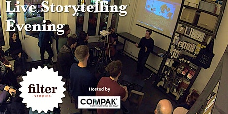 Filter Stories Podcast Live - Storytelling in Shoreditch tickets