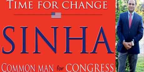 Vote SINHA  - #CommonManForCongress - Farewell Party for JOE WILSON tickets