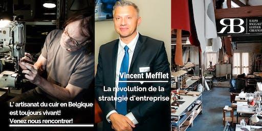 Conference sur la révolution de la stratégie d'entreprise avec Vincent Mefflet