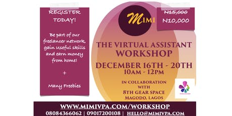 Virtual Assistant Workshop tickets