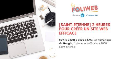 [Saint-Etienne] 2 heures pour créer un site web efficace billets