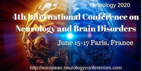 4th International Conference on Neurology and Brain Disorders tickets