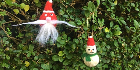 Christmas Felt  Decoration making  at Belmont with The Design House. tickets