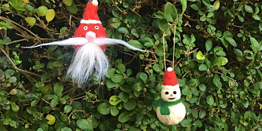 Christmas Felt  Decoration making  at Belmont with The Design House.