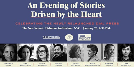 An Evening of Stories Driven by the Heart tickets