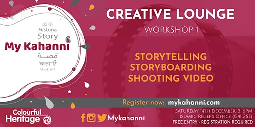 Workshop 1 - Storytelling & storyboarding  [Weekend Session]