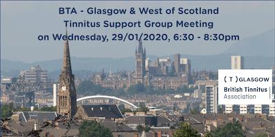 BTA – Glasgow & West of Scotland Tinnitus Support Group (29/01/2020)