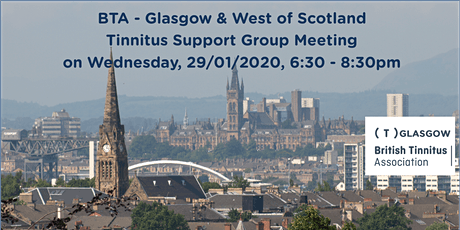 BTA – Glasgow & West of Scotland Tinnitus Support Group (29/01/2020) tickets