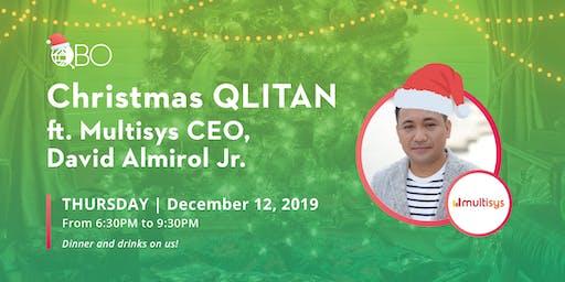 CHRISTMAS QLITAN with Multisys CEO David Almirol Jr. + PobCrawl
