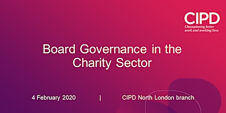 Board Governance in the Charity Sector  tickets