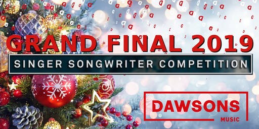Grand Final Dawsons Singer Songwriter Competition 2019