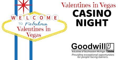Valentines in Vegas Casino Night tickets
