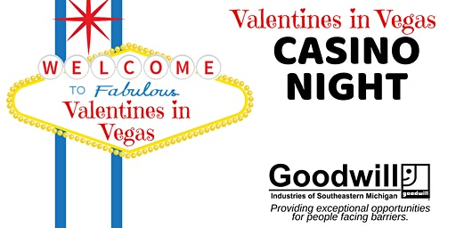 Valentines in Vegas Casino Night