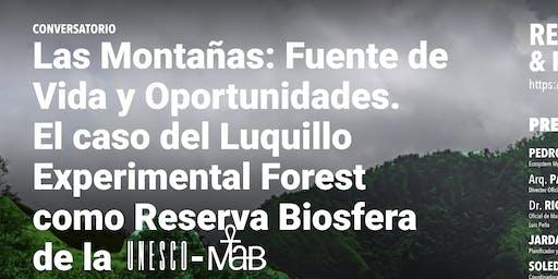 Conversatorio Las Montañas: Fuente de Vida y Oportunidades