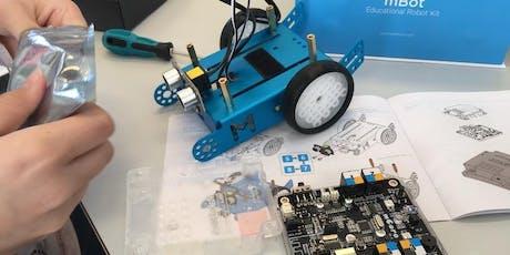 Einmaliger WORKSHOP: Robotics mit mBot Tickets