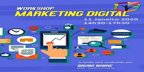 Workshop Marketing Digital  bilhetes