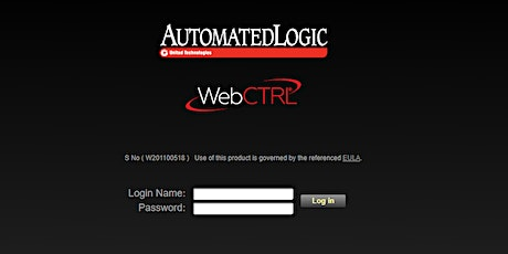 Getting To Know WebCTRL tickets