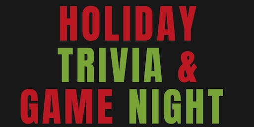 Holiday Trivia & Game Night - Greensboro