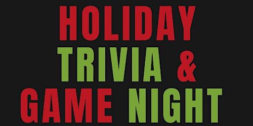 Holiday Trivia & Game Night - Greensboro