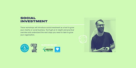 Social investment, 26 February - Catch the Wave tickets