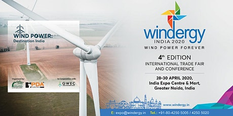 Windergy India 2020 tickets