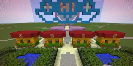 Einmaliger WORKSHOP: Minecraft –Freizeitpark Tickets