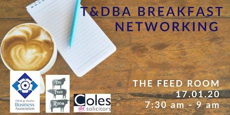 T&DBA Breakfast Networking tickets