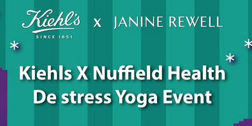 Kiehl's X Nuffield Health