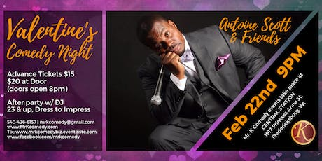 Mr. K Comedy Night & After Party: Valentine's Edition tickets